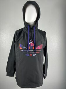 Adidas Originals CNY Womens Pullover Hoodie Black Purple GN4736 NEW Size S Small