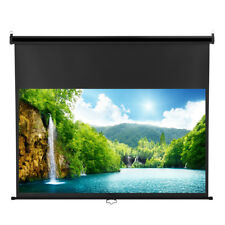 Excelvan 100inch 16:9 Diagonal Pull Down Projector Projection Screen 1080 DTV UK