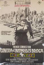 Contra el imperio de la droga  -- Cartel de Cine Original --