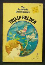 """TRIXIE BELDEN """"Secret of the Unseen Treasure  #19 1st-  sc/pc 1977 kathryn kenny"""