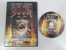 DOOM KARL URBAN THE ROCK DVD VERSION EXTENDIDA ESPAÑOL ENGLISH TERROR HORROR