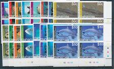 BAHAMAS 2012 DEFINITIVES SG1600/1615 PLATE BLOCKS OF 4 MNH