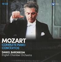 Daniel Barenboim - Mozart: The Complete Piano Concertos (NEW CD SET)