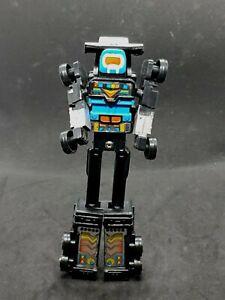 Remco Vintage Zybots Black Truck Transformer Robot Series 6 1984
