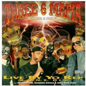 Three 6 Mafia - Live By the Rep [New CD]