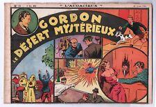 Récit complet. Collection L'AUDACIEUX n°11. GORDON le désert mystérieux. 1938