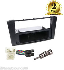 CT24TY17 Car CD Stereo Fitting Kit Fascia Panel For Toyota Avensis T25 2003-2007
