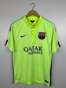 FC Barcelona 2014-2015 Third Football Shirt Soccer Jersey Nike Mens Size M