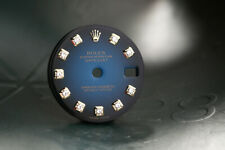 Rolex Ladies Blue Vignette Diamond Dial for model 79173 - 179173 FCD11800