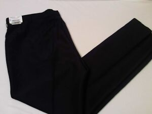 Edwards NWT Textured Woven Solid Black Security Uniform Pants Big & Tall Size 52