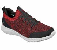 NEW Men's Skechers Elite Flex - Karnell Sneaker Red Black - 232048/RDBK