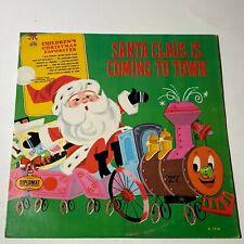 Santa Claus Is Coming To Town: Diplomat 1966 Vinyl LP (Children's / Christmas)