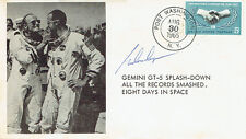 Gordon COOPER Signed Autograph First Day Cover FDC COA AFTAL Gemini 5 Astronaut