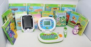 LeapFrog LOT LeapPad + My Own Leaptop + Tag Reader Pen+ Tag Jr Reader + 12 Books