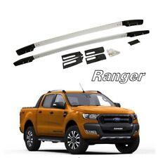 Aluminum For Ford Ranger 2015-2019 Silver Roof Rack Cargo Side Rails