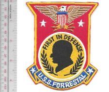 USS FORRESTAL CVA 59 Rating License Plate U S Navy USN Military PO3