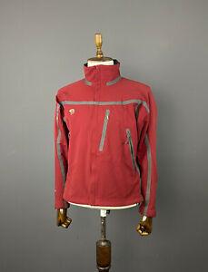 Men Mountain Hardwear Conduit Soft Shell Red Full Zip Nylon Jacket Size M