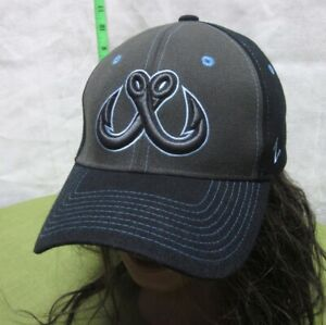 TOLEDO WALLEYE small hat Ohio flex fitted cap ECHL hockey 2012 alternate logo
