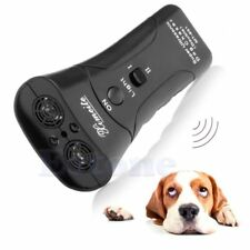 Ultrasonic Dog Chaser Stop Aggressive Animal Attacks Repeller With Flashlight