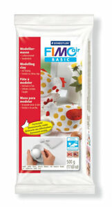 FIMO AIR DRYING MODELLING CRAFT CLAY - WHITE, FLESH OR TERRACOTTA - (Like DAS)