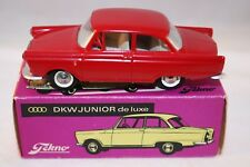 Tekno Denmark 727 Audi DKW Junior de luxe red mint in a great box Superb