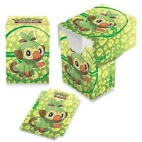 Grookey Grass 2020 ULTRA PRO deck box CARD BOX FOR POKEMON CARDS