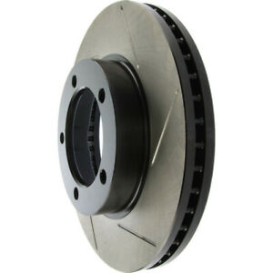 Disc Brake Rotor-Rear Disc Front Left Stoptech 126.66031SL