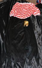 Girl Pirate Buccaneer Halloween Costume Fits Adults Size L Women Dress 12-13-14
