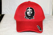 CHE GUEVARA REVOLUTION BASEBALL CAP HAT ( RED )