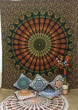 Beautiful Wall Hanging Queen Size Tapestry Bedding Bedspread Royal Cotton Hippie