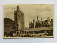 Oxford New College Vintage Frith B&W Postcard 1943