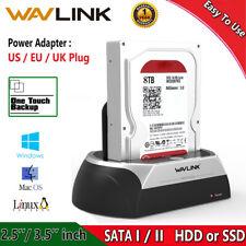 Wavlink USB 2.0 to SATA External Hard Drive Docking Station 2.5/3.5 Inch HDD SSD
