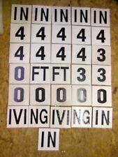 "Swimming Pool Ceramic Tile Safety Depth Marker - 31 tiles 6""x6"" each - New"