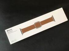 Genuine Apple Watch BROWN LEATHER Strap Modern Buckle MEDIUM 38mm /40mm RRP £149