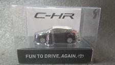 TOYOTA CHR LED Light Keychain Black White PullBack Mini Car Not Sold in stores