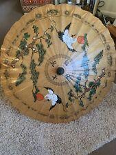 Oriental Chinese/Japanese Parasol Umbrella 30cm Diameter