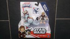 Galactic Heroes Star Wars Han Solo Y Taun Taun