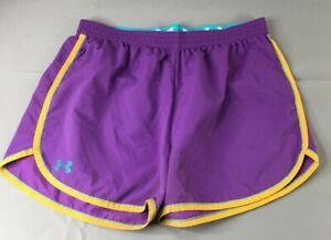 Under Armour Short Extra Large Womens  Regular Size Violet Running Short #191