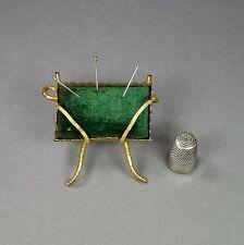 Antiguos francés Cojín 19th Century Pin Dorado Ormolu Napoleón III Circa 1860