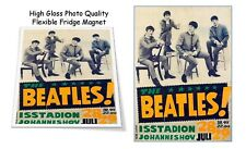 """The Beatles 1966 Johannesburg Concert Poster 3""""X4"""" FRIDGE MAGNET"""