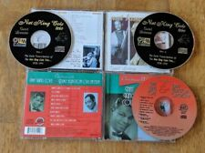 Nat King Cole CD Lot Trio Sweet Lorraine Duke Ellington Orchestra Christmas With