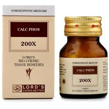 Homeopathic Lords Calc Phos 200X Tablets 25 gm Helps to Joint pains, Weakness FS