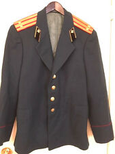 AUTHENTIC RUSSIAN AIR FORCE OFFICER'S DRESS JACKET.WOOL.42R. MILITARY SURPLUS.