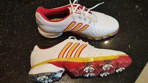 Womens Adidas Golf Shoes size 7.5 Beijing Olympics design.