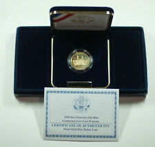 2006 San Francisco Old Mint $5 Gold Commemorative Proof Coin w/ Box COA