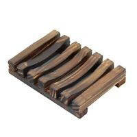 Porta Sapone da Bagno nel Legno di Bambù con Portaoggetti R6E1