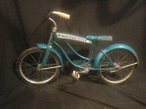 1950s 60s Kids Green Western Flyer Bicycle