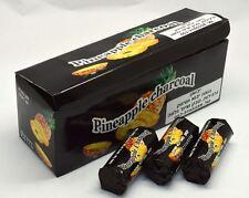 10 Rolls PINEAPPLE Charcoal 60Pcs Tabs Coal Easy Lighting Shisha Hookah Hole