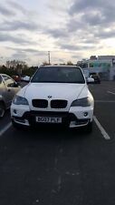 BMW X5 wrapped WHITE 07 PLATE