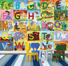 Alphabet-Wall Mural-10.5'(3.20m) wide by 8'(2.44m) high